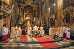 Slavnost sv. Jana Evangelisty uminoritů v Brně