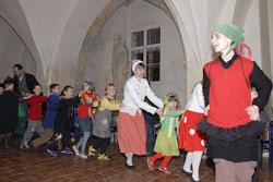Dětský karneval uminoritů v Brně