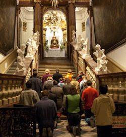 Brno: Svaté schody – rozjímání outrpení Páně