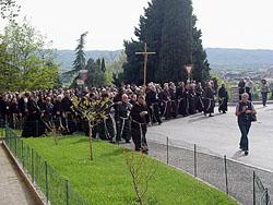 Rohožková kapitula v Assisi: Pátek – den pokání apůstu