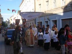 Jihlava: Eucharistický průvod