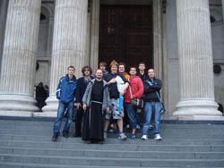 Ministranti v Londýně