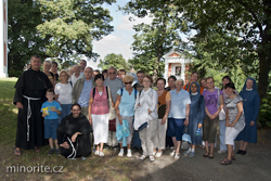 Konala se pouť Rytířů Neposkvrněné ačtenářů časopisu Immaculata