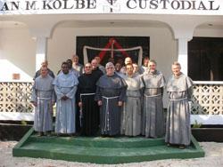 Nová minoritská kustodie v Tanzánii