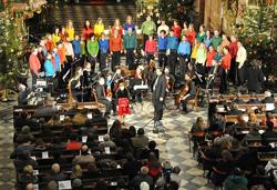 Brno: Koncert Františkovy jesličky