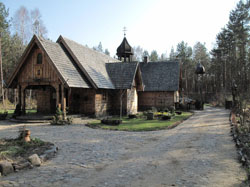 Polsko: Svatá Hora Polanowska – minoritská poustevna