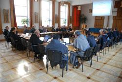 Setkání Konference CEO s generálním ministrem řádu agenerálním definitoriem