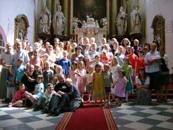 První františkánské setkání rodin
