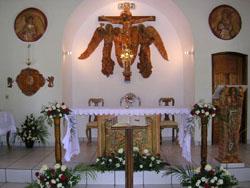 Oslavy svátku sv. Františka spojené s posvěcením nové adorační kaple v Aregua v Paraguaji