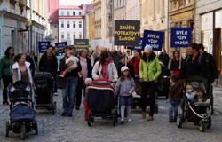 Pochod pro život v Jihlavě