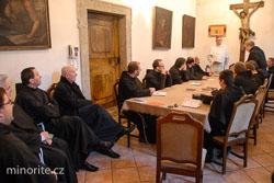 Praha: Bratrsko-formační setkání