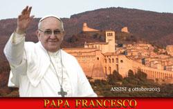 Program návštěvy papeže Františka v Assisi (4.10.2013)