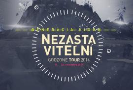 Slovensko: Godzone tour 2014 Nezastavitelní