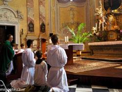 Cvilín: Pouť studentů ke cti sv. Josefa Kupertinského (30.8.2015)