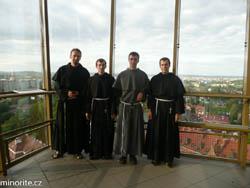 Brno: Obnova časných slibů bohoslovců audělení služby lektorátu aakolytátu (30.8.2016)