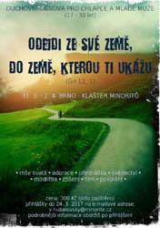 Brno: Duchovní obnova pro mladé muže (31.3.-2.4.2017)