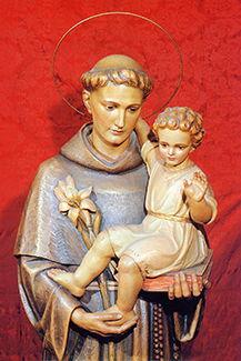 Svatý Antonín zPadovy