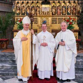 Kněžské svěcení br.Bogdana Patrika Rygiela OFMConv