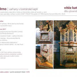 Loretánské varhany – Nejlépe opravená kulturní památky JMK zarok 2017