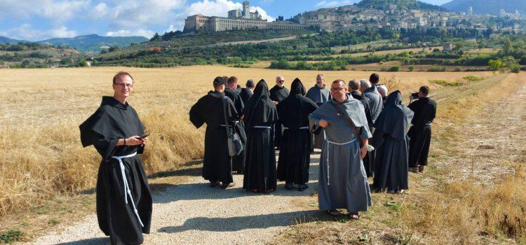 Bratrské setkání v Assisi